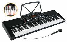 61 Leucht Tasten Keyboard E-Piano Lern Klavier 255 Sounds Rhythmen Leuchttasten