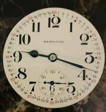 Hamilton 992B Pocket Watch US Govt, 21j, Mvmt/Dial! Nice