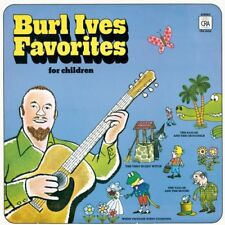 New: BURL IVES - Favorites for Children (4 Folk Songs and 4 Stories) kids CD
