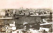 RPPC,Casablanca de Havana,Cuba,Entrance to Harbor,The Caribbean,c.1937-45