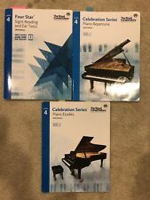 Royal Conservatory of Music Celebration Series Level 4 - Lot of 3