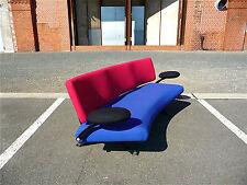 Artifort sentar curved Designer sofá órbita designed by w.c.r. Mezger 1990s