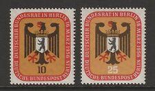 Germany Berlin 1956 Federal Council Meeting SG B147 - B148 MNH