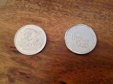 """Harry Potter"" ASDA 2001 Gringotts Savings Book Coin - GRINGOTTS"
