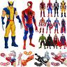 Spiderman Ironman Captain America Hulk Marvel Avenger CharacterFigure Model Toy