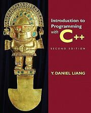 Introduction to Programming with C++ (2nd Edition), Liang, Y. Daniel, Acceptable