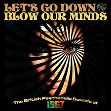LET'S GO DOWN & BLOW OUR MINDS British Psychedelic Sounds of 1967 BOX 3CD NEW.cp