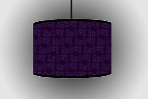 30cm Purple Circular Design Lampshade Handmade Lamp Handmade Ceiling Lamp Drum