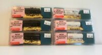 N-scale Roundhouse Set of Six 30-Foot Modern Tank Car Kits