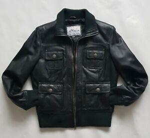 Leather Jacket Men's Woman's Unisex Biker Slim Asian Korean Pop Armani Style NEW