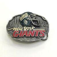 1988 New York Giants Pewter Belt Buckle