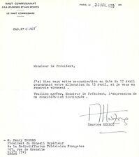 MAURICE HERZOG / ALPINISTE ET HOMME POLITIQUE