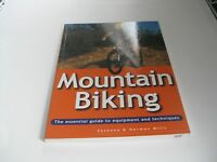 Mountain MTB Biking Book Essential Guide to Bicycle Equipment & Techniques NOS