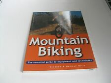 Mountain MTB Biking Book Essential Guide toBicycle Equipment & Techniques NOS