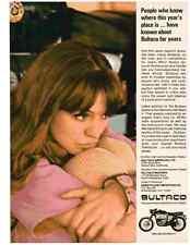 1967 BULTACO METRALLA 250 MARK II MOTORCYCLE  ~  CLASSIC ORIGINAL PRINT AD