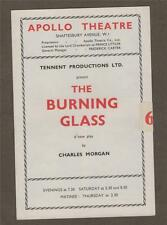 'THE BURNING GLASS' 1954 Apollo Theatre. Faith Brook. Michael Gough.    j.48