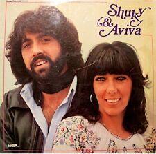 SHUKY & AVIVA fete l'amour/je t'aime un peu trop/prends ma chemise LP 1976 WIP++