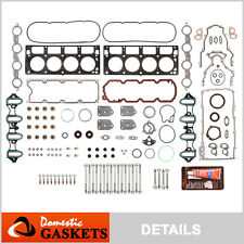 02-04 Chevrolet GMC Buick Cadillac 5.3L 4.8L OHV MLS Full Gasket Head Bolts Set