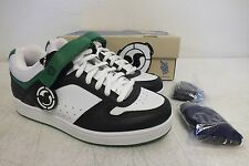 DVS Shoe Company Jeron Wilson 2 Black & Green Leather Shoes US 7/40 NEW