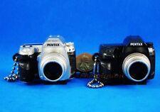 Takara Tomy Pentax Camera Figure Keychain Decoration 1:3 K-7 Set 2 A537_A538