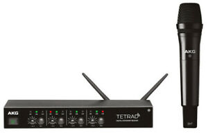 AKG DMS Tetrad D5 Vocal Set 4-Channel Digital Wireless Receiver with D5