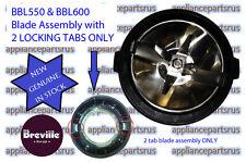 Breville Ikon Blender 2 Tab Blade Assembly New Style BBL550 BBL600 - BBL600/14C
