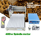USB CNC 3040 Router  4 Axis Engraver Engraving Milling Machine 3D Cutter +Remote