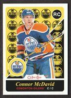 2015-16 O-Pee-Chee Update Retro #U11 Connor McDavid Edmonton Oilers