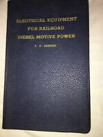 Vintage Electrical Equipment For Railroad Diesel Motive Power A. H. Candee 1940