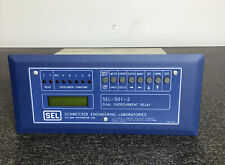 SEL-501-2 SEL SCHWEITZER ENGINEERING LABORATORIES DUAL OVERCURRENT RELAY