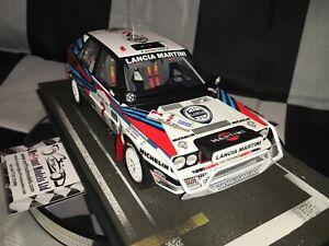 1:18 BBR Miki Biasion Lancia Delta Integrale HF 8V #2 Winner Safari Rally 1989