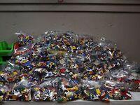Lego Pounds LBS Huge Bulk Lot! bricks blocks w/ 1 MINIFIG @Buy It Now Price!!!!