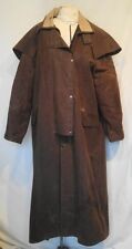 Driza Bone Australian 100% Cotton Riding Coat Size 4 B44