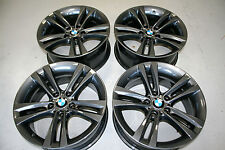 "4 x GENUINE BMW 397 M 18"" Alloy Wheels - 3 Series 4 F30 F31 F32 - Ideal Winter"