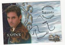 Nicholas Brendon as Xander Buffy The Vampire Slayer Season 3 Autograph Card #A11