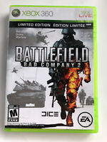 Battlefield: Bad Company 2 Limited Edition FREE SHIPPING (Microsoft Xbox 360)