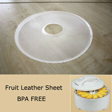 National Presto Dehydro Electric Food Dehydrator Fruit Leather Sheets For Nesco