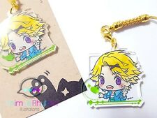 Crystal Clear Acrylic straps charm: Mystic Messenger Yoosung Kim App Game