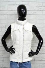 14050eb77a149 Piumino Bianco Donna BENETTON Taglia M Jacket Woman White Giubbotto Piuma  D oca