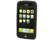 Black Silicone Gel Skin Case For Apple iPhone 3G S