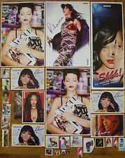 9 Starkarte + 15 Sticker  __  Rihanna  __  Collection / Sammlung