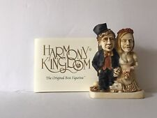 Harmony Kingdom Wedding Figurine Royal Watch Collectors Club The Big Day 1996