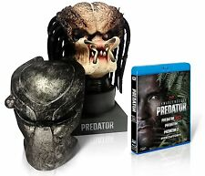 New Complete Blu-ray set of 4 Disc comes with Predator Head Blu-ray Rare