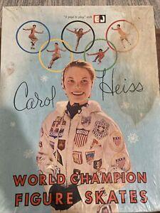 Vintage 1960's CAROL HEISS World Champion Figure Skates (Size 6) In Box SKATING
