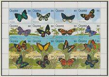 Postfrische Briefmarken mit Vögel-Motiven aus Guyana
