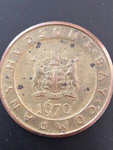 Hudson Bay Company 1670-1970 Medallion