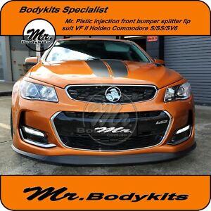 Mr. Front Bumper Lip Splitter For Holden Commodore VF Series 2 Sedan/Ute/Wagon