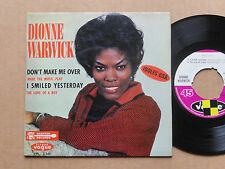 "DISQUE 45T DE DIONNE WARWICK  "" DON'T MAKE ME OVER """