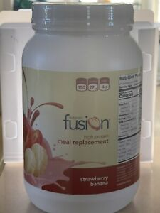 Bariatric Fusion Meal Replacement Protein 21 Serving Tub Strawberry Banana