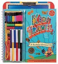 Kids Travel: A Backseat Survival Kit-ExLibrary